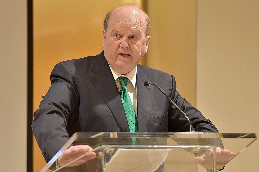 """Mr Noonan, speaking at the Regent Singapore hotel yesterday, said that Ireland had """"decided it was better to take the punishment upfront"""" and that this had helped its economy recover fairly quickly."""