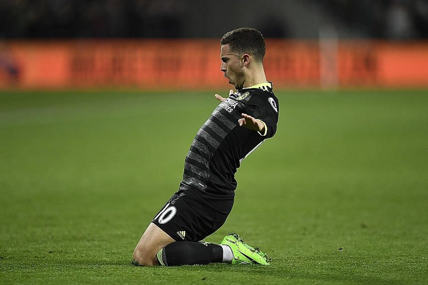 Chelsea star Eden Hazard is the most-fouled Premier League player since 2014-15. He has been fouled a league-high 75 times this season.