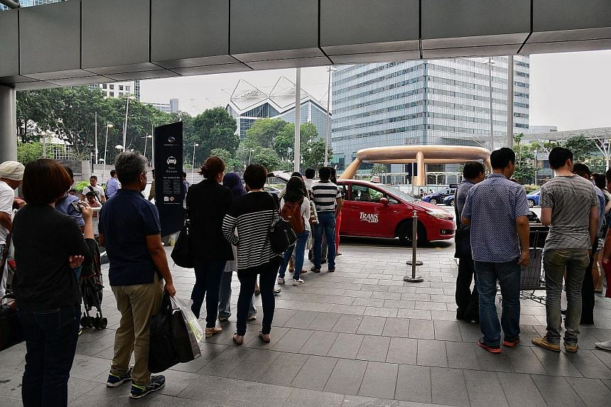 The four taxi companies adopting dynamic pricing - Trans-Cab, SMRT, Premier and HDT Singapore Taxi - will continue to offer their metered fare rates for both street hails and bookings via their call bookings and apps.