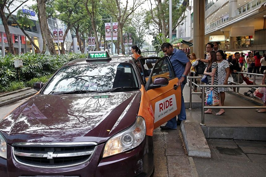 """SMRT, Premier, Trans-Cab and HDT Singapore Taxi will partner Grab to introduce the surge pricing option, while ComfortDelGro, the largest taxi operator here, intends to introduce a """"flat fare structure"""" for its Comfort and CityCab taxis, which is sim"""