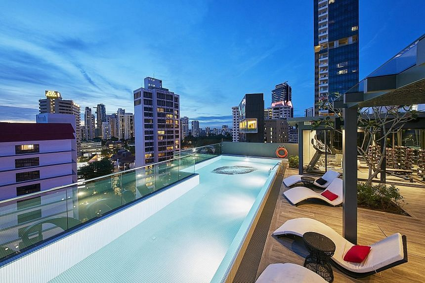 "The 98-unit Oakwood Studios Singapore (above) offers ""curated experiences"" such as being able to order a piano to play in the room. Oakwood Asia-Pacific managing director Schreiber said that Mapletree had ""nothing"" to do with the latest property."