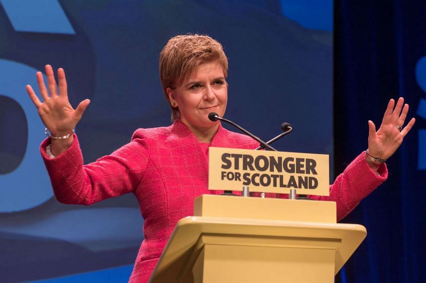 Asked if a vote in 2021 would be reasonable, Sturgeon said it would not because too much time would have lapsed after Britain's EU exit