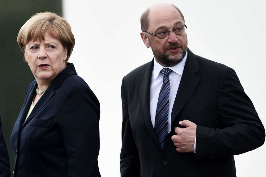 In a speech to the SPD rank and file, Schulz will attempt to harness his momentum against Merkel, whose conservatives just a few months ago had an apparently invincible lead in the polls.