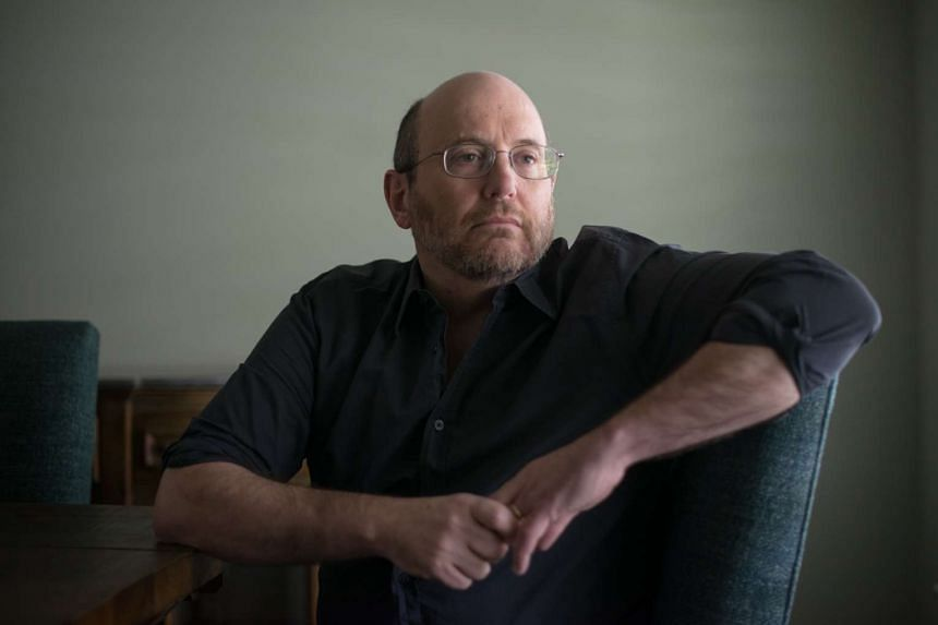 Kurt Eichenwald, an investigative journalist and prominent online critic of Donald Trump, at home in Dallas, March 17, 2017.
