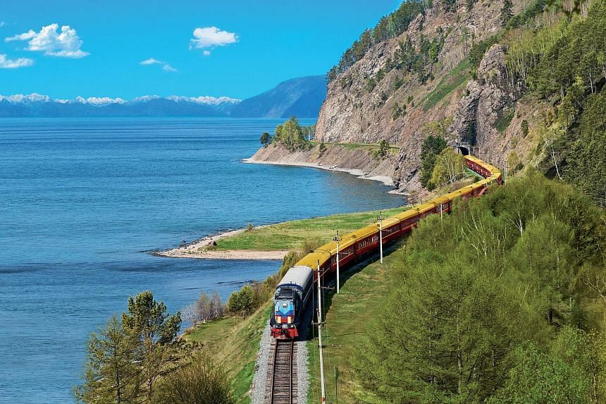 Planes look down on a land, but trains introduce you to it, sometimes revealing rare nuances of the landscape or offering glimpses of those who people it. For young travellers, trains might allow them to forsake the trappings of the modern world and