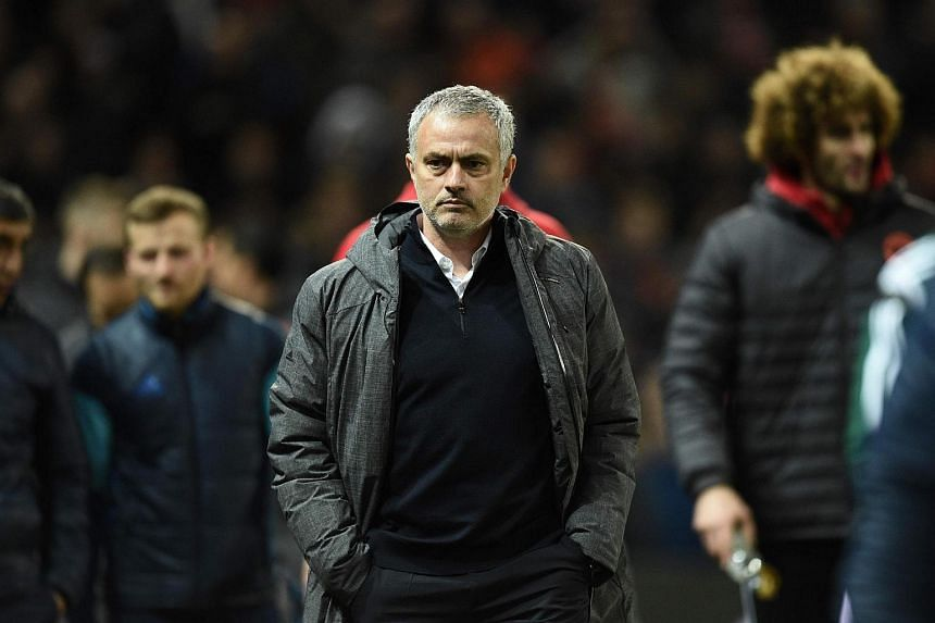 Manchester United manager Jose Mourinho arrives for the Uefa Europa League round of 16 second-leg football match between Manchester United and FC Rostov at Old Trafford stadium in Manchester, England.