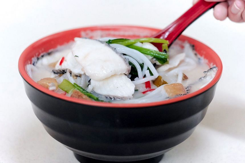 Signature Sliced Fish Soup
