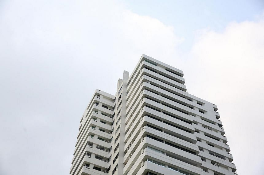 The facade of Leonie Towers.