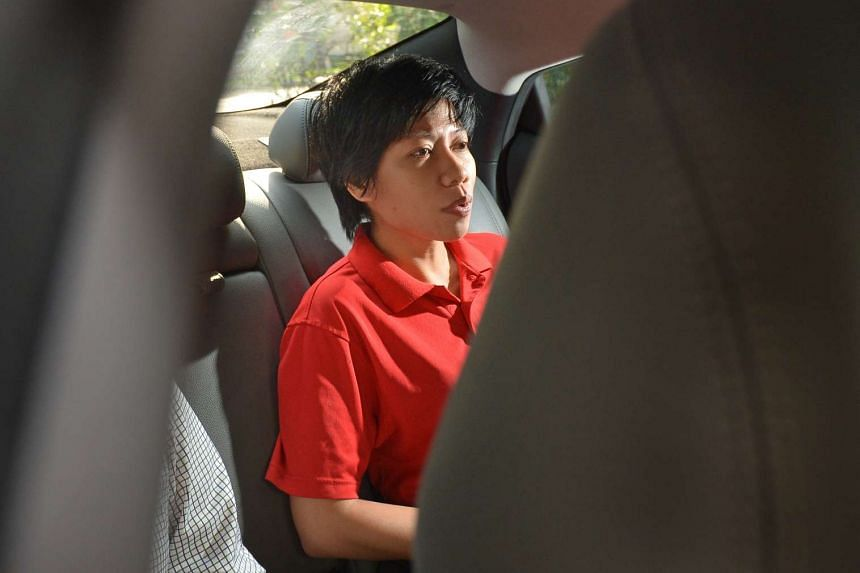Woo Mui Mee (above), who was diagnosed with paranoid schizophrenia, admitted to causing grievous hurt to Mr Wong Keng Woo, 76, at his home in Yishun Ring Road on Nov 21, 2015.