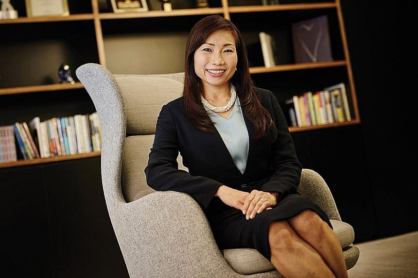 Ms Lynette Leong, chief executive officer of CapitaLand Commercial Trust Management, believes women possess many advantages that allow them to complement their male colleagues in the boardroom.