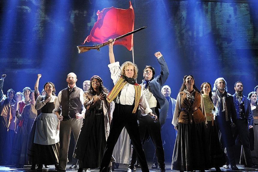 A Les Miserables production, by Cameron Mackintosh, in Millburn, New Jersey, in 2010.