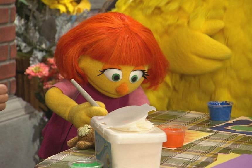 Children's programme Sesame Street has introduced a new character, a muppet named Julia who has autism.
