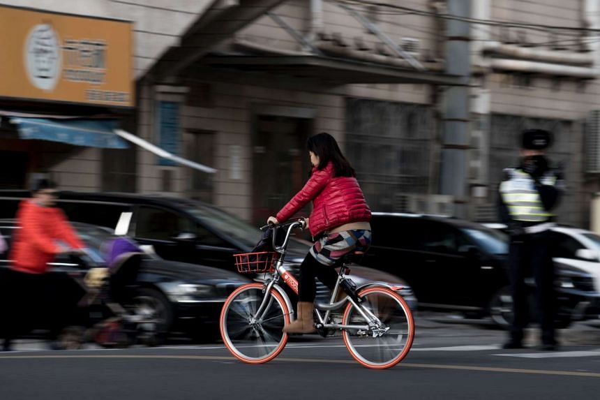 Mobike currently has more than one million bicycles across 33 cities in China.