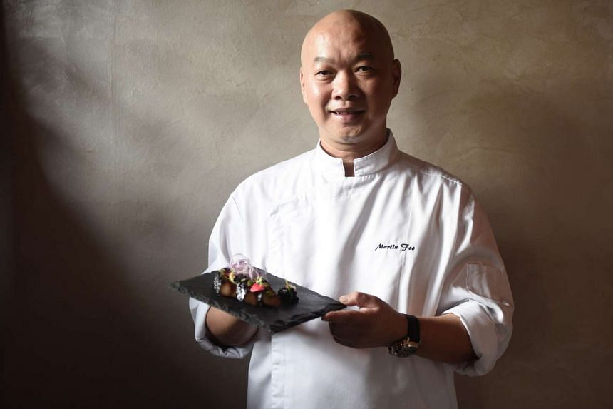Chef Martin Foo of VLV has almost 30 years of culinary experience.