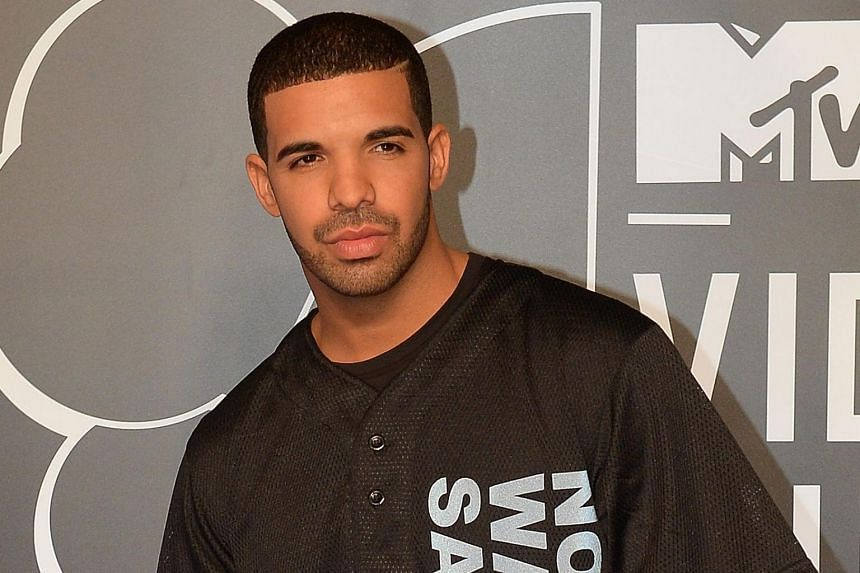 Drake arriving at the MTV Video Music Awards at the Barclays Centre in August 2013.