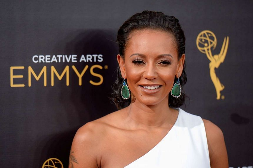 British actress and singer Mel B at the Creative Arts Emmys in Los Angeles, California, US, on Sept 10, 2016.