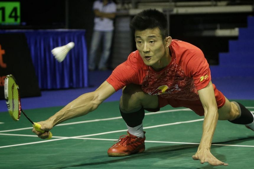 China's Olympic champion Chen Long is the men's world No. 2.