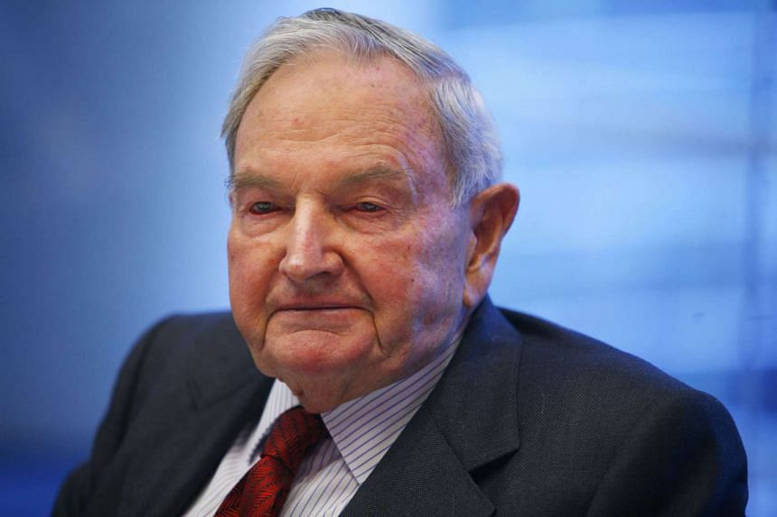 The world's oldest billionaire David Rockefeller died on Monday (March 20) at his home in Pocantico Hills, New York.