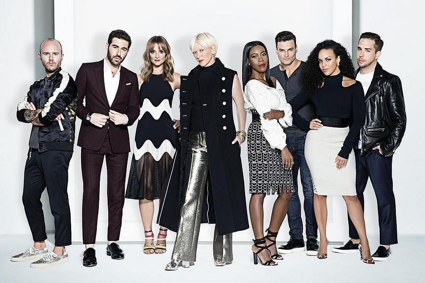 Never a dull moment behind the scenes with the staff of women's magazine Cosmopolitan and their former editor-in-chief, Ms Joanna Coles (fourth from left).