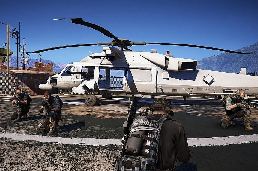 In Ghost Recon: Wildlands, you can commandeer cars, jeeps, minibuses, bikes, helicopters, planes and other modes of transportation to move around.