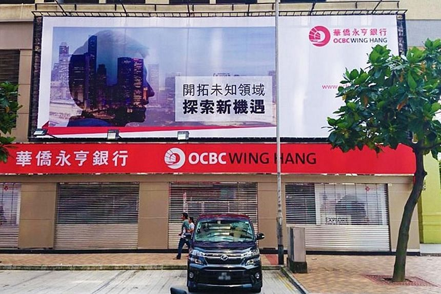 OCBC Wing Hang Bank has a 33.33 per cent stake in Hong Kong Life Insurance. The Hong Kong insurer, which is a joint venture of five financial institutions, sells insurance through 180 outlets using branch networks.