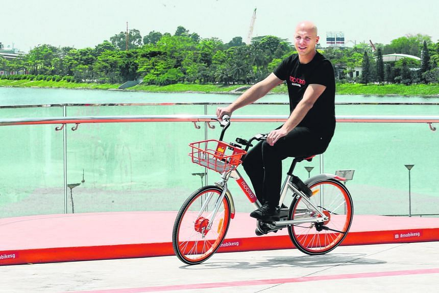 "Mr Bohnert, Mobike's head of international expansion, says the firm is in a ""good position"" to win the national bike-sharing tender."
