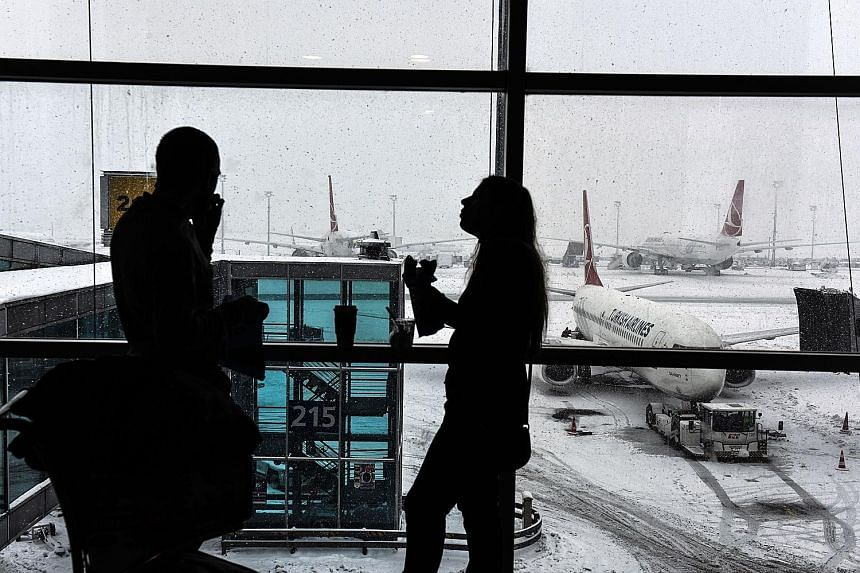 Under new rules, travellers to the US from 10 airports, including Ataturk International Airport in Istanbul, will have to put all personal electronic devices larger than a phone in their checked baggage.