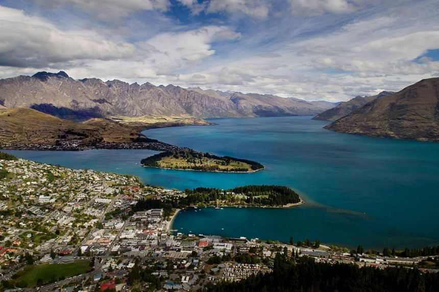 File photo of the city of Queenstown on the shores of Lake Wakatipu.