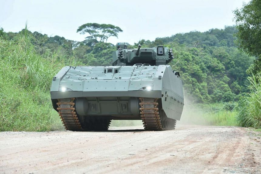 The vehicle, operated by a three-man team, can also carry eight soldiers and reach speeds of up to 70kmh, with a range of 500km.