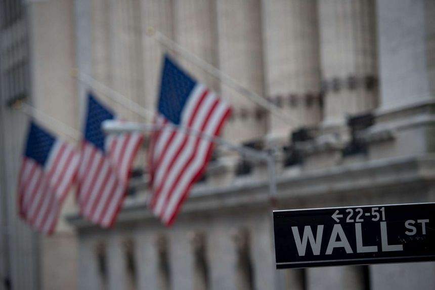 The Dow Jones industrial average fell by about 238 points, a drop of more than 1 per cent.