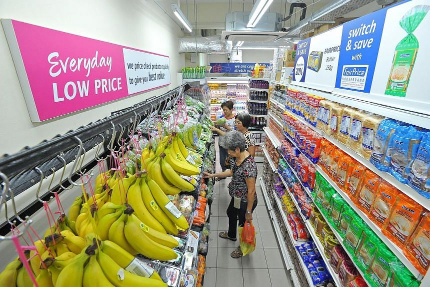 The FairPrice Shop format was launched last July, with the conversion of two FairPrice supermarkets in Eunos and Circuit Road. A more affordable range of products fill half the store, including house brand Value Fresh, which is stocked exclusively at