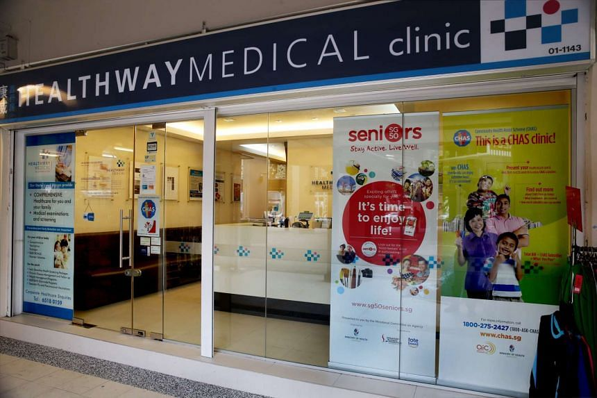 The Healthway Medical Corp Clinic at Blk 201D Tampines Street 21.