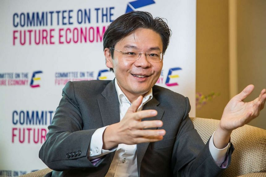 Minister for National Development Lawrence Wong said on Thursday (March 23) that Singapore is taking steps to build a financial sector with a strong sustainability focus.