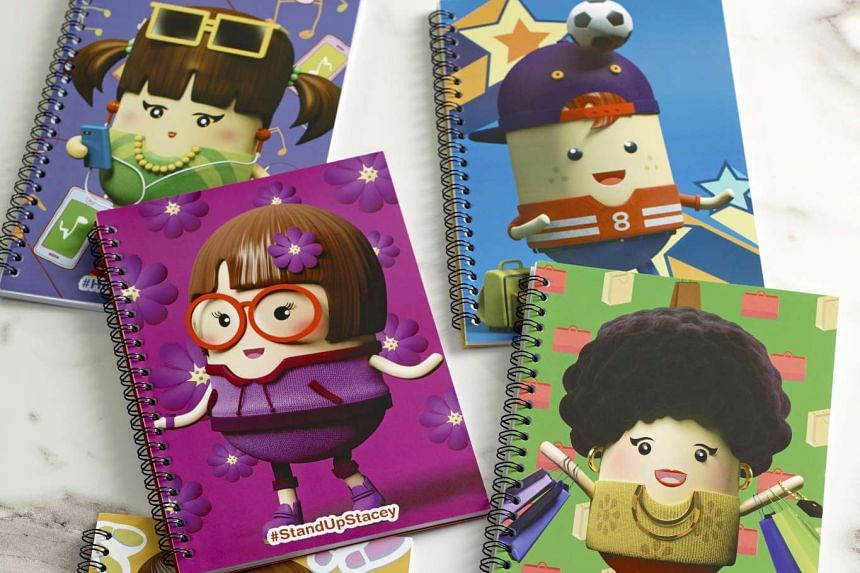 Notebooks with the 'Graciousness' theme.