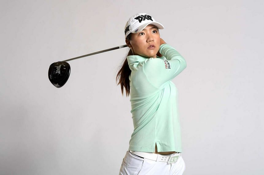 Lydia Ko of New Zealand poses for a portrait at the Park Hyatt Aviara Resort on March 21, 2017.