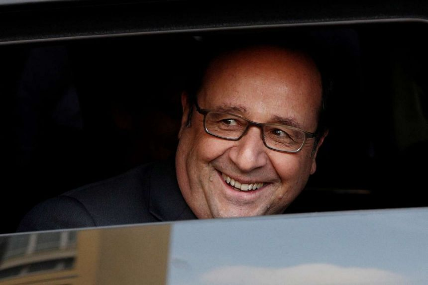 While in Singapore, Mr Hollande will receive an official welcome at the Istana.