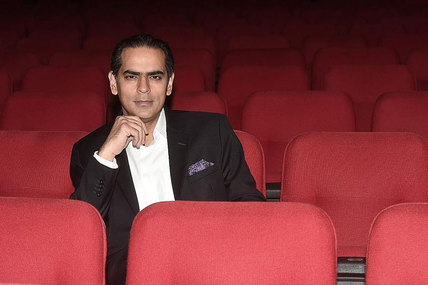 """Singapore Repertory Theatre's artistic director Gaurav Kripalani says he is """"filled with excitement and trepidation"""" about his new appointment and he has been receiving messages of support from his peers."""