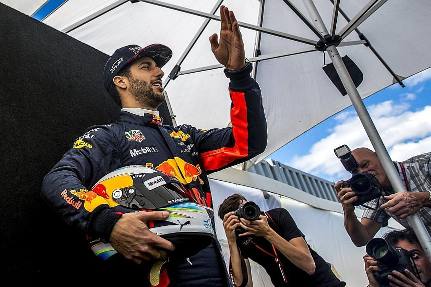 Red Bull's Daniel Ricciardo believes he's in with a shout for Sunday's race.