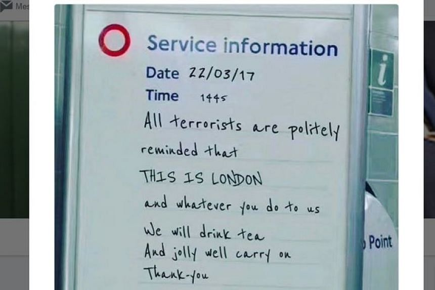This London Tube sign was generated by an online Tube sign generator.