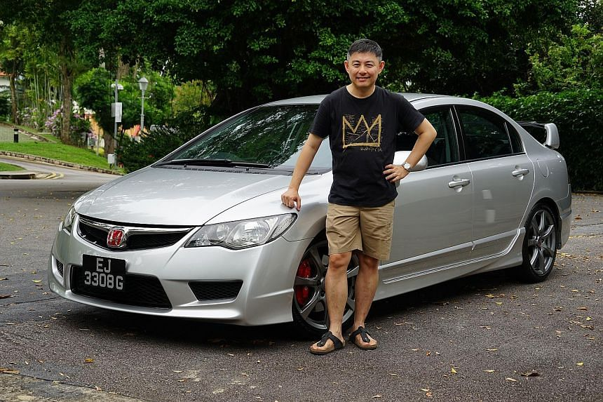 Mr Gay Eng Joo sends his Civic Type R for regular grooming, does simple maintenance work on the car himself and stocks up on vital spare parts in case they become scarce.