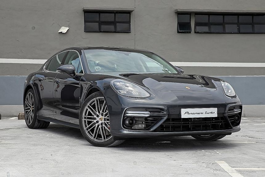 Stylish curves are aplenty on the new Panamera. And with the intuitive touchscreen, the car can be individualised to behave according to the driver's fancy.