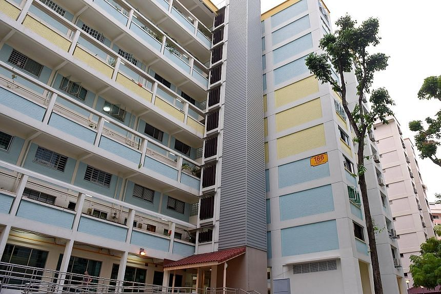 A 30-year-old flat in Block 186, Bishan Street 13, was sold for $1.09 million earlier this month.