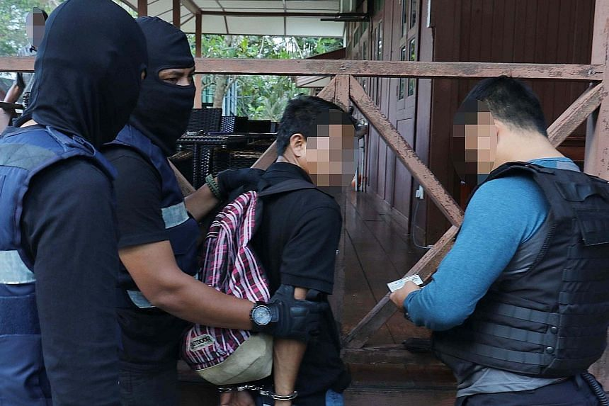 Among the nine arrested was this 24-year-old resort worker in Kota Tinggi, Johor. The diverse occupational background of the suspects, which included a primary school teacher, security guard, owner of a veterinary clinic and a restaurant worker, worr