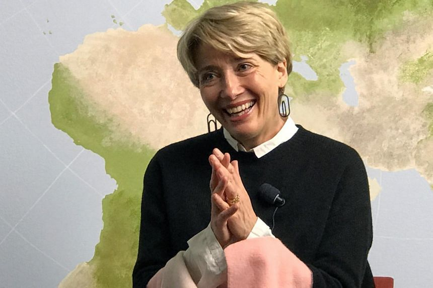 "British actress Emma Thompson said Norway had long been a ""green beacon"" to her."
