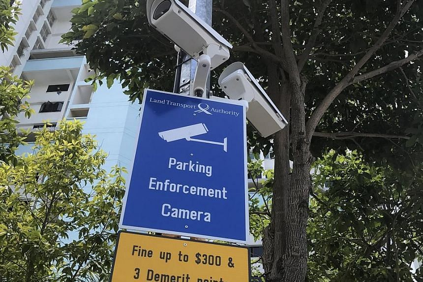 Various agencies have surveillance cameras around the island, such as these near the Little India train station. However, the web of cables that connect various existing cameras and sensors remains untapped as a central data resource - although the f