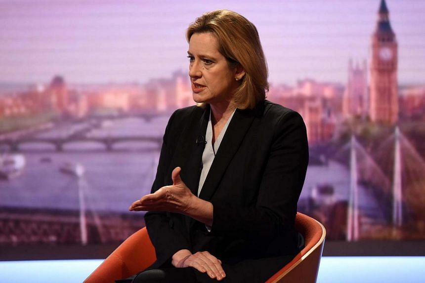 """Technology firms must cooperate more with law enforcement agencies and should stop offering a """"secret place for terrorists to communicate"""" using encrypted messages, said British Home Secretary Amber Rudd."""