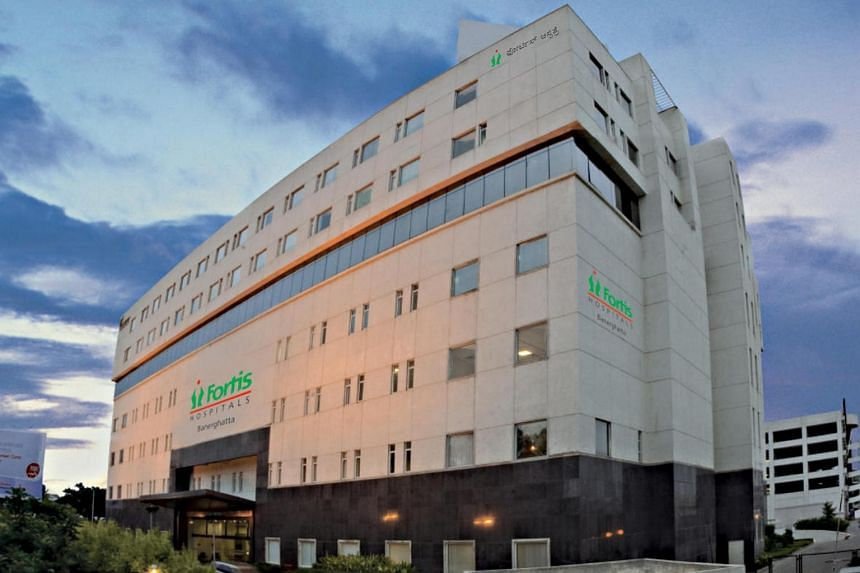Fortis Healthcare is India's second-largest private hospital chain by market value.