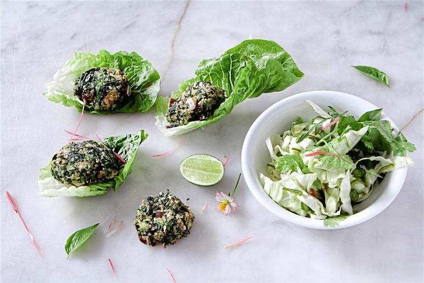 Baked Mackerel Cakes With Chilli Lime Dressing.