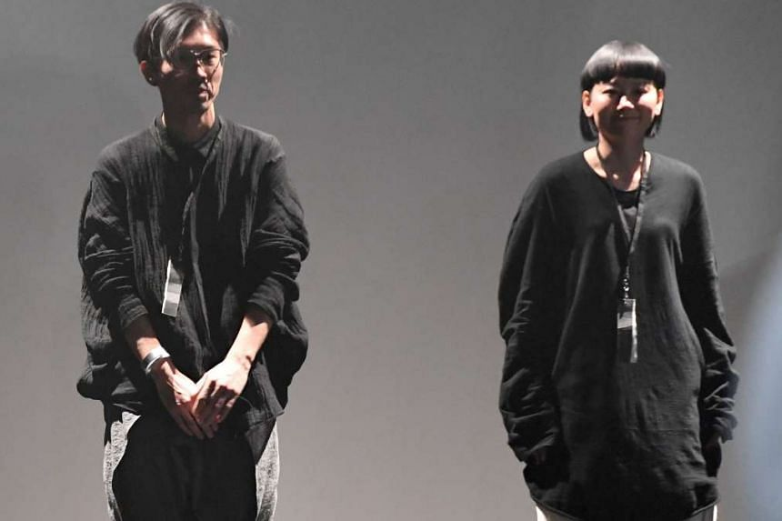 Designers Hitoshi and Keiko Korogi (right) have dressed Lady Gaga, but have never met her.