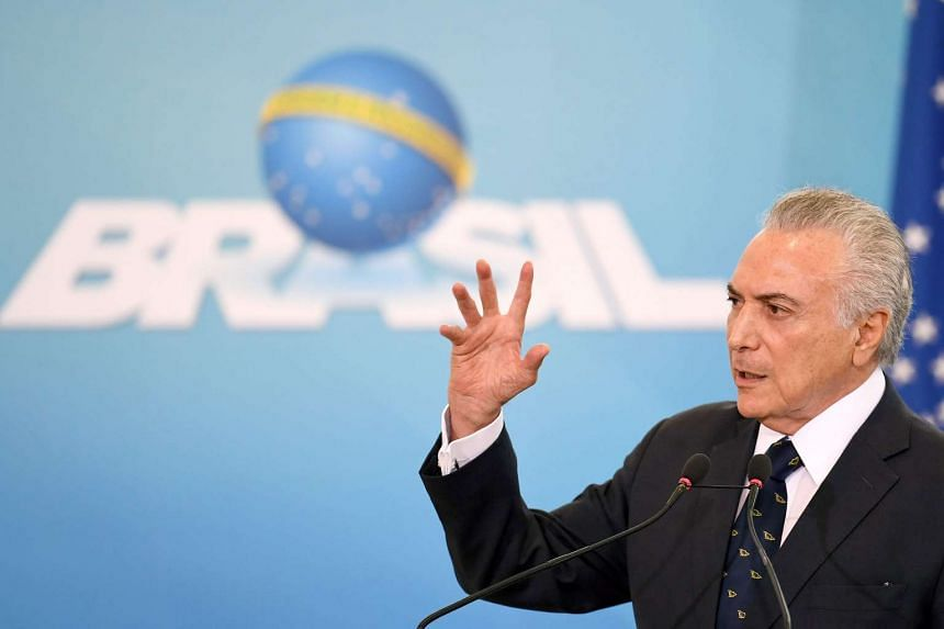 President Michel Temer still has to decide on the proposal after meeting with Finance Minister Henrique Meirelles later on Monday.